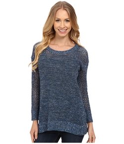 Lucky Brand - Laced-Up Pullover Sweater