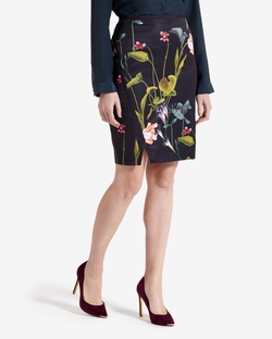 Ted Baker - Renola Oriental Floral Pencil Skirt