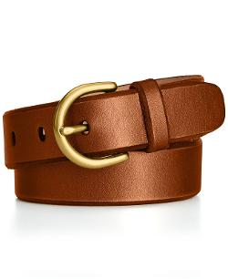 Fossil  - C-Buckle Leather Jean Belt