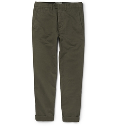 Officine Generale - New Fisherman Cotton-Twill Chino Pants