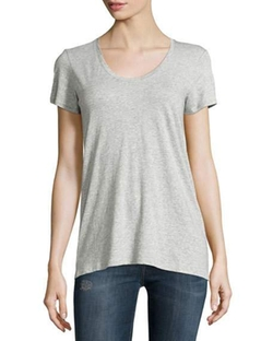 Vince  - Scoop-Neck Jersey T-Shirt