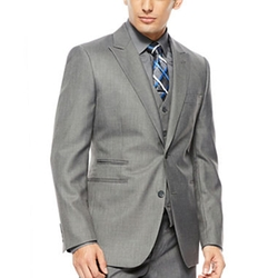 JF J. Ferrar - Sharkskin Suit Jacket