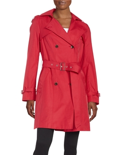 Cole Haan Signature - Double-Breasted Trench Coat
