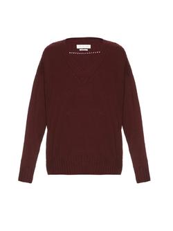 Isabel Marant ÉToile - Marly V-Neck Knit Sweater