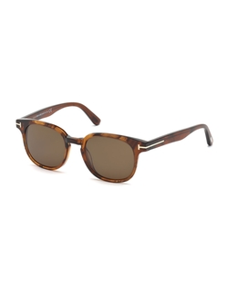 Tom Ford - Frank Translucent Acetate Sunglasses