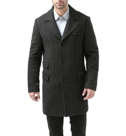 BGSD - Jacob Wool Blend Walking Coat