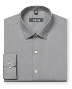 Kenneth Cole Reaction  - Tonal Stripe Dress Shirt