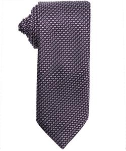 Ermenegildo Zegna - Microcheck Pattern Silk Tie