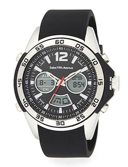 Saks Fifth Avenue  - Ana-Digi Chronograph Sport Watch