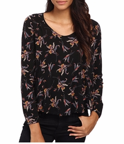Free People - Fantasy Jersey Elsa Blouse