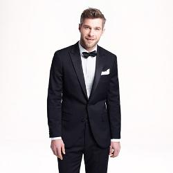 Ludlow  - Tuxedo Jacket In Italian Wool