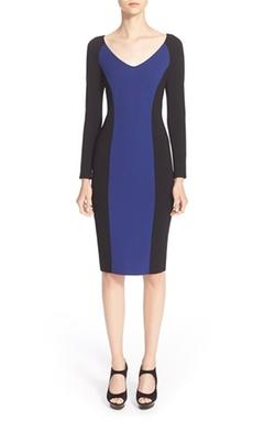 Armani Collezioni - ColorblockJersey Dress