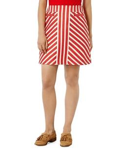 Karen Millen  - Striped Tweed Skirt