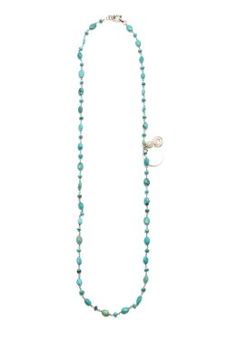 Morgan Allen Designs - Turquoise Stone Necklace
