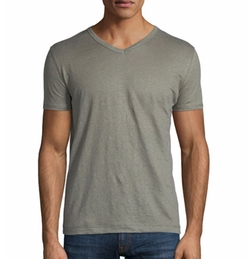 Majestic - Short-Sleeve V-Neck T-Shirt