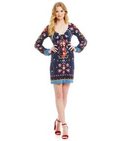 Chelsea & Violet - Printed Knit Dress
