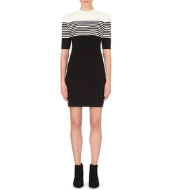 Mo&Co. - Striped Knitted Dress