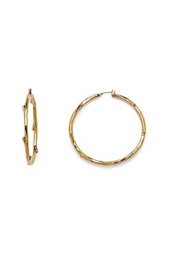Dvf - Large Hoop Earring