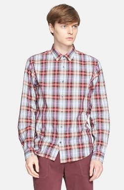 Vince - Trim Fit Plaid Sport Shirt