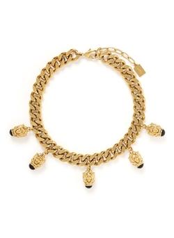 Ela Stone - Curb Chain Collar Necklace