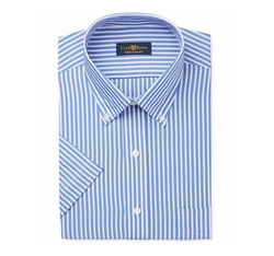 Club Room - Stripe Short-Sleeve Dress Shirt