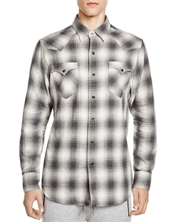 Polo Ralph Lauren  - Western Plaid Regular Fit Button Down Shirt