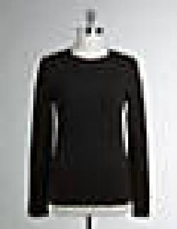 Lord and Taylor - JONES NEW YORK SIGNATURE Petite Long-Sleeved Crewneck Tee