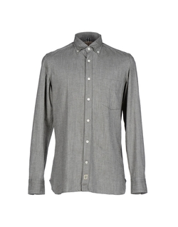 Luigi Borrelli Napoli - Herringbone Button-Down Shirt