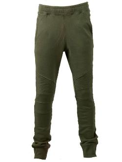 Balmain - Biker-Style Sweat Pants