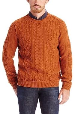 Boss Orange - Virgin Wool Cable Knit Sweater