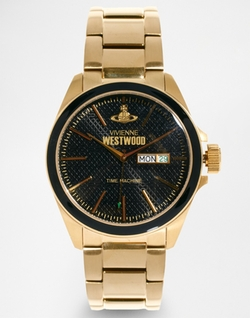 Vivienne Westwood - Gold Metal Watch