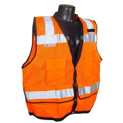 Radians - CL 2 Heavy Duty Surveyor Dual Large Safety Vest