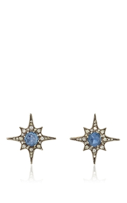 Arman Sarkisyan  - Sapphire North Star Stud Earrings