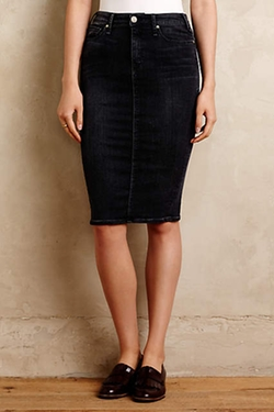 McGuire  - Denim Pencil Skirt