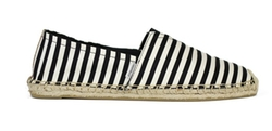 Joy And Mario - Stripe Slip-On Espadrilles