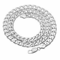 Thug Fashion Collection - Cuban Link Curb Chain Necklace