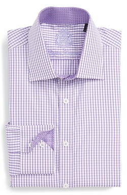 English Laundry  - Trim Fit Check Dress Shirt