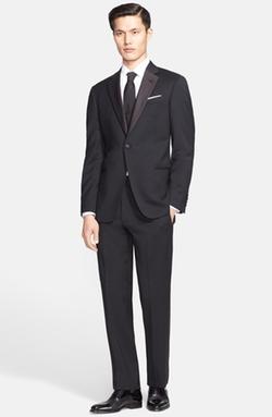 Armani Collezioni - Giorgio Trim Fit Notch Lapel Tuxedo Suit