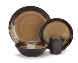 Cuisinart - Stoneware Alba Collection 16-Piece Dinnerware Sets