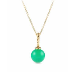 David Yurman  - Solari Chrysoprase Pendant Necklace