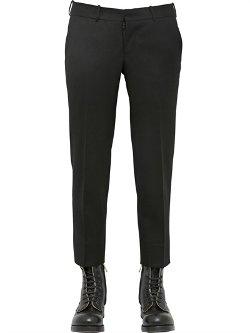 Alexander Mcqueen  - Wool Gabardine Trousers