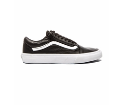 Vans - Old Skool Zip Premium Leather Sneakers
