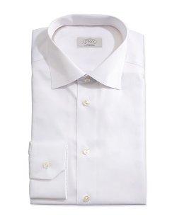 Eton  - Solid Fine Twill Dress Shirt