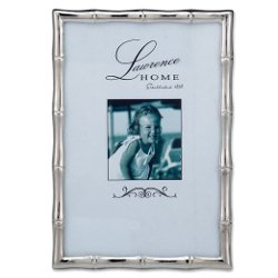 Lawrence Frames  - Silver Metal Bamboo Picture Frame