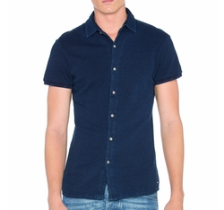 Scotch & Soda - Shortsleeve Pique Shirt