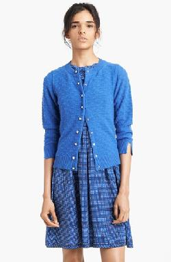 MARC JACOBS  - Jewel Button Cashmere Cardigan