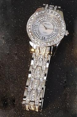 Monica Live - Diamond Bracelet Quartz Watch