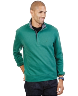 Nautica - Quarter-Zip Front Fleece Sweater