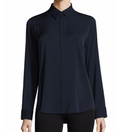 The Row - Petan Stretch Silk Shirt