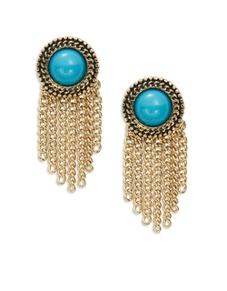 Sam Edelman  - Fringe Stud Earrings